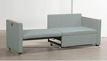 Sideline Sleeper Sofa   This Sofa Converts To An Ample Sleeper By Extending  To The Side.